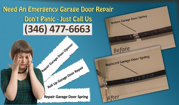 Cypress Garage Doors Repair